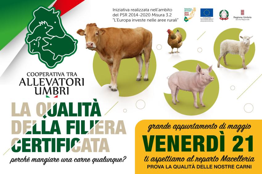 Venerdì 21 maggio, grande evento presso i punti vendita dell'Umbria.