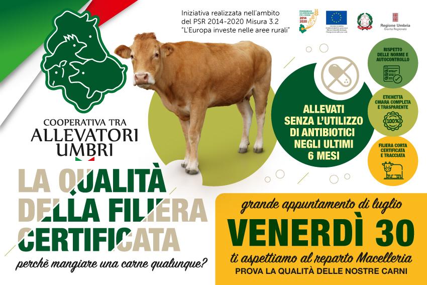 Venerdì 30 luglio, grande evento presso i punti vendita dell'Umbria.