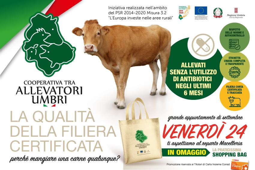 Venerdì 24 settembre, grande evento presso i punti vendita dell'Umbria.